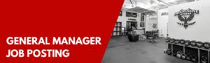 PFCF Gym General Manager Job Posting