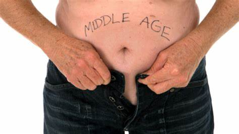 The Middle Age Spread is a Myth