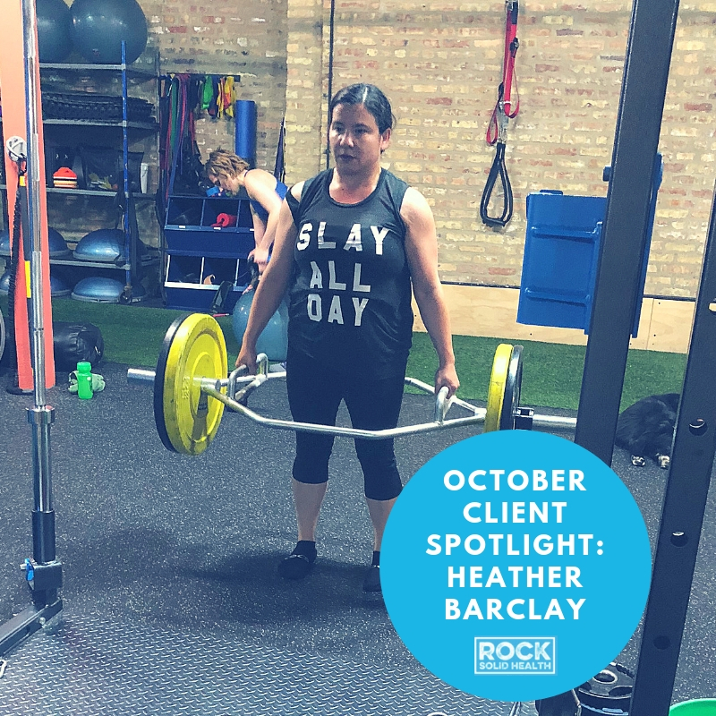 October Client Spotlight: Heather Barclay