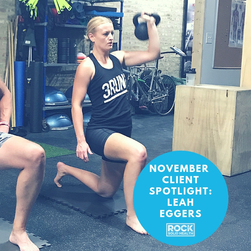 November Client Spotlight: Leah Eggers