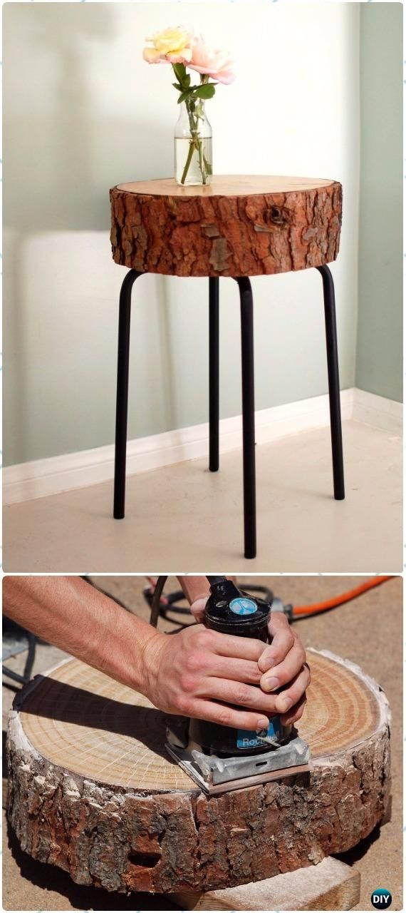 Wood Logs and Stumps DIY Ideas Projects & Furniture ...