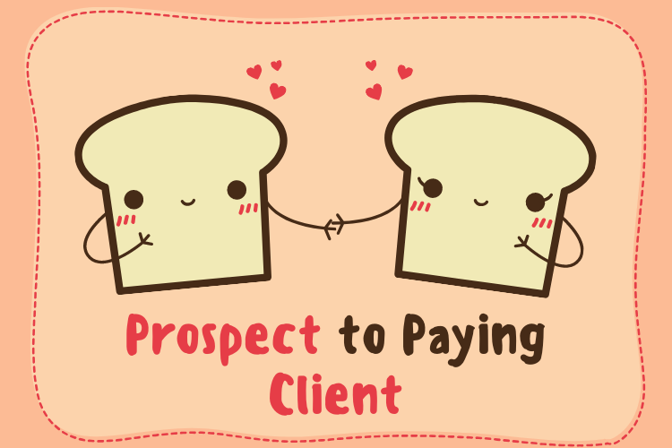 Prospect to paying client