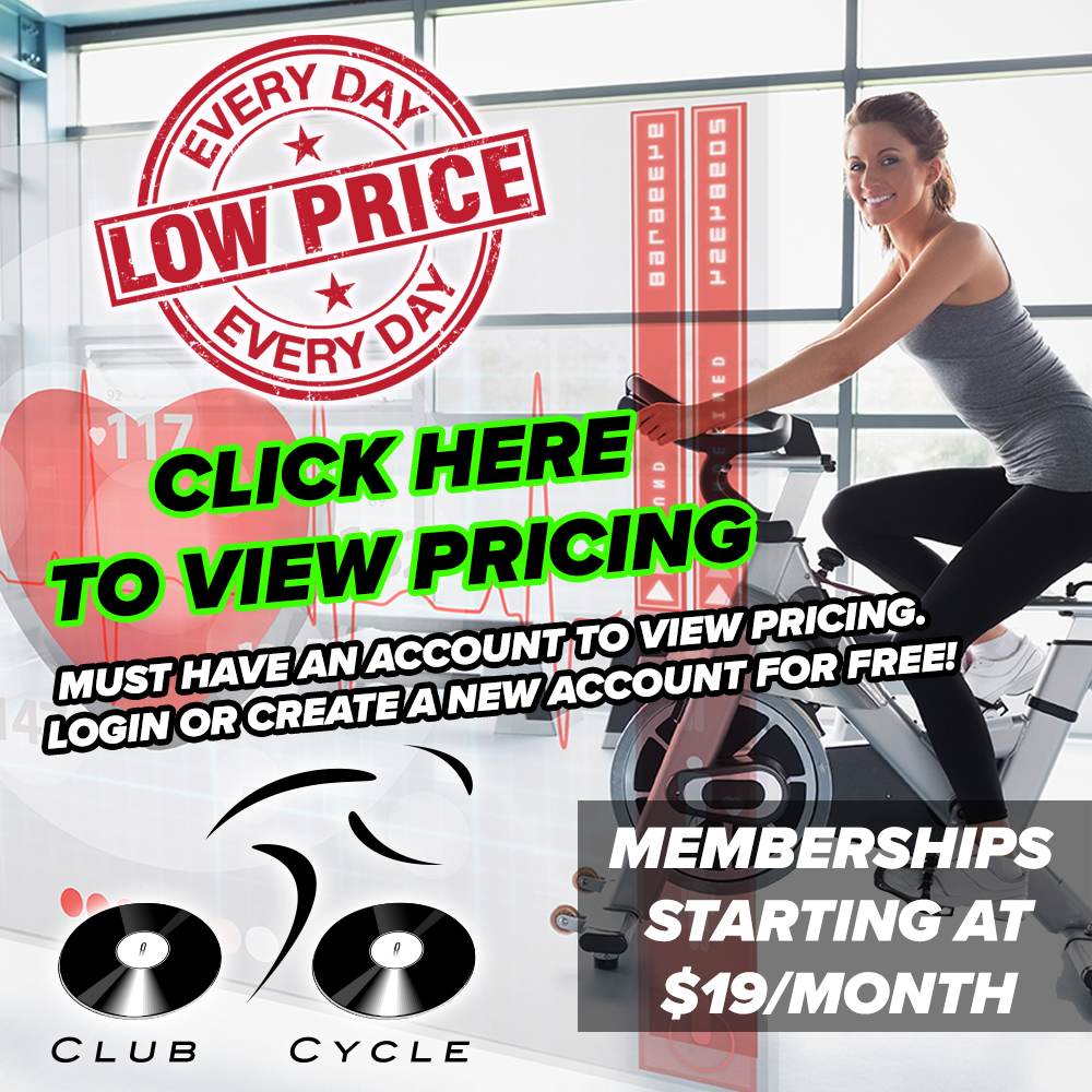 Click Here To View Club Cycle Membership Pricing!