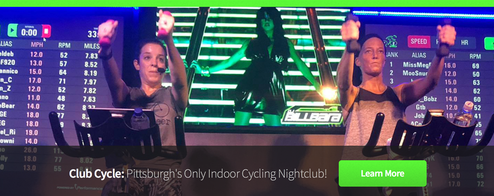 Club Cycle - Pittsburgh's Indoor Cycling Nightclub