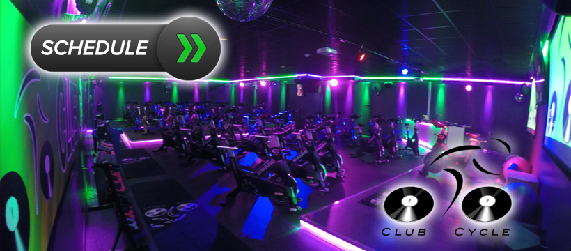 Schedule Your Spin Classes!