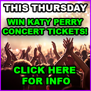 Win Free Concert Tickets To See Katy Perry