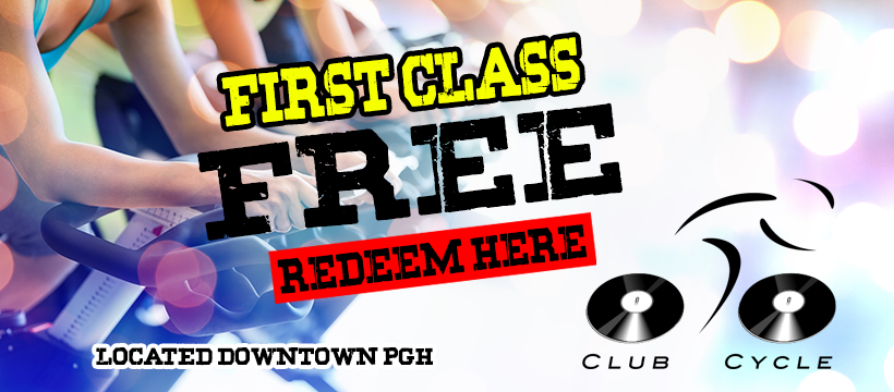 New Members, Redeem Free Class at Club Cycle1
