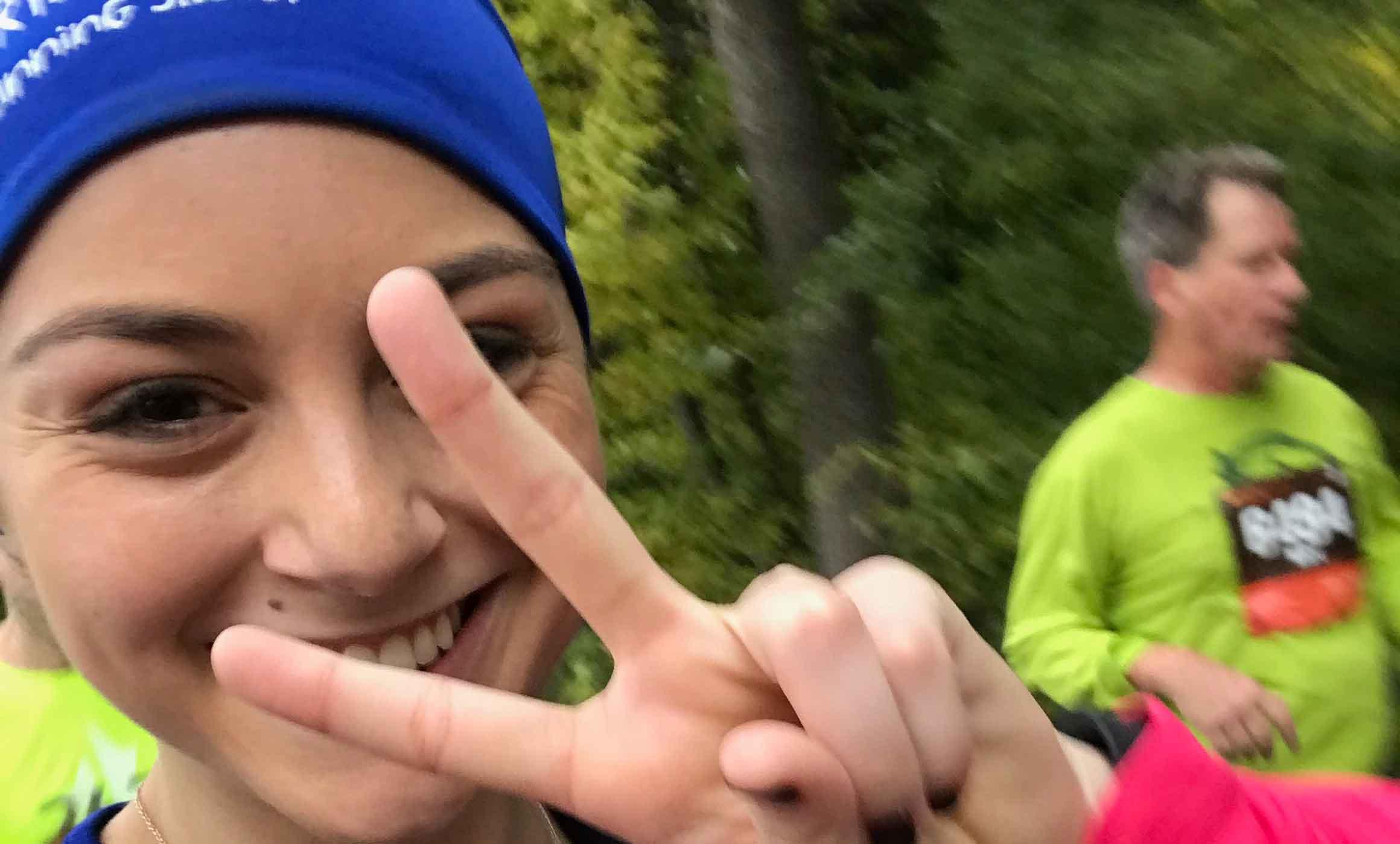 Isa: Mi primer maratón