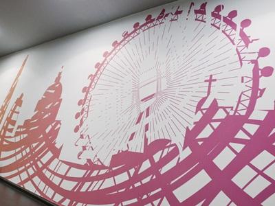 Cyclebeat London wall
