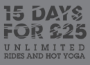 Introductory offer 15 days for £25