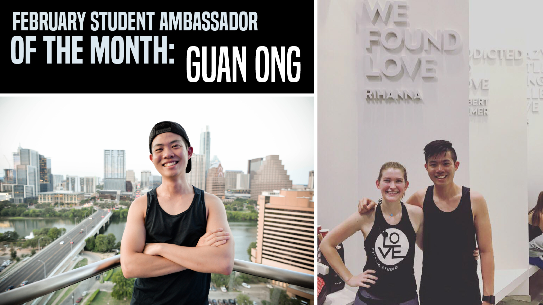 February Student Ambassador of the Month: Guan Ong