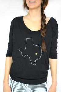 Bobi 3/4 Texas Dolman Black