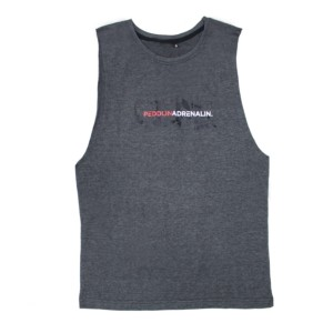 Tank - Peddlin Adrenalin - Mens - Grey