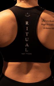 Ritual Logo Down Spine Bra