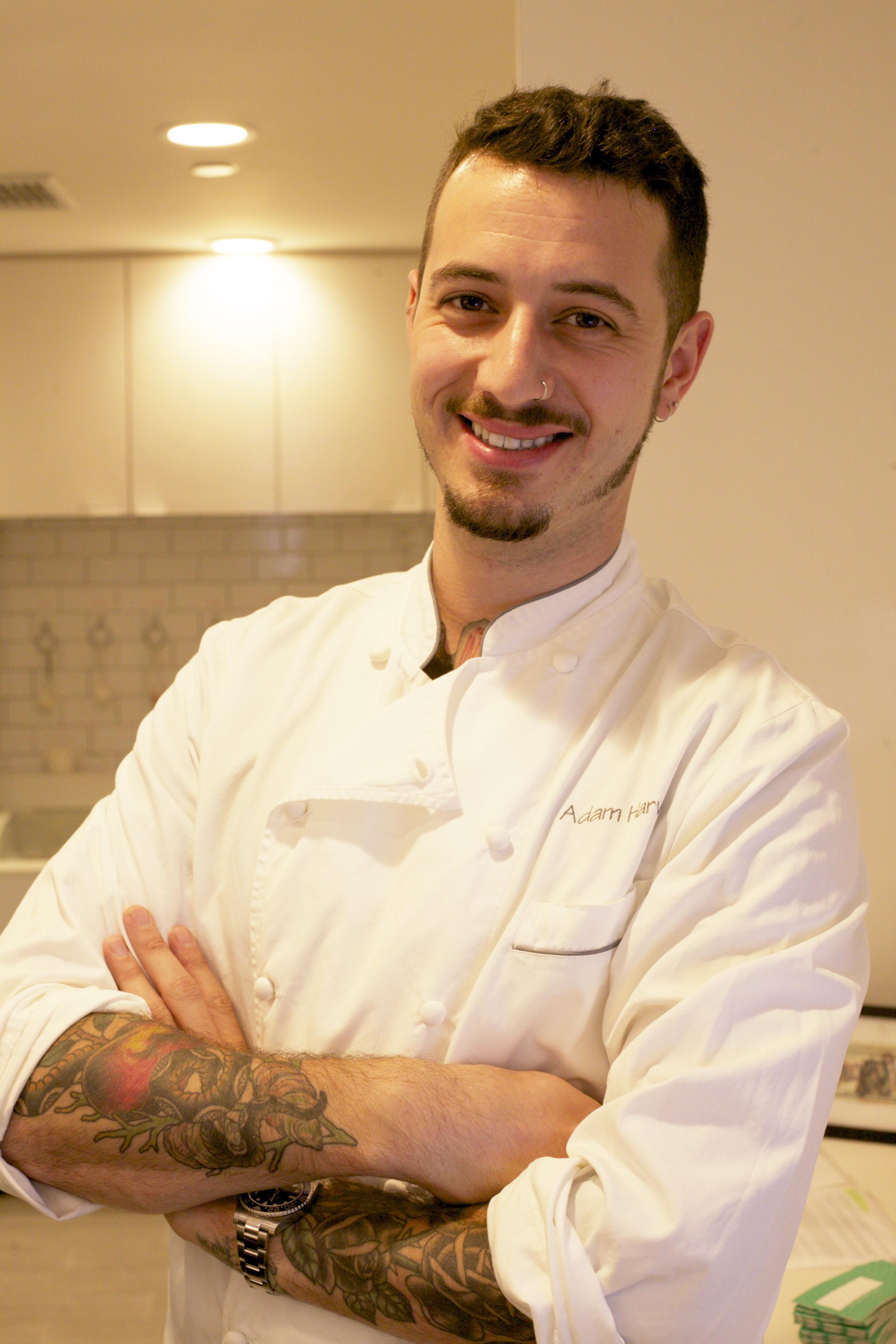 Chef Adam Hravey