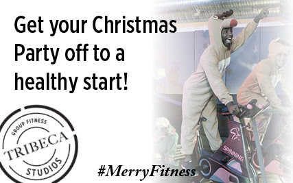 Get your xmas party off to a healthy start!