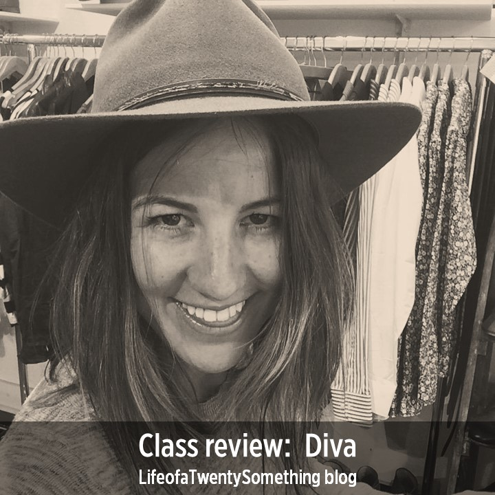 Class review:  Diva - LifeofaTwentySomething blog