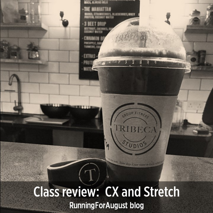 Class review: CX and Stretch - RunningForAugust blog