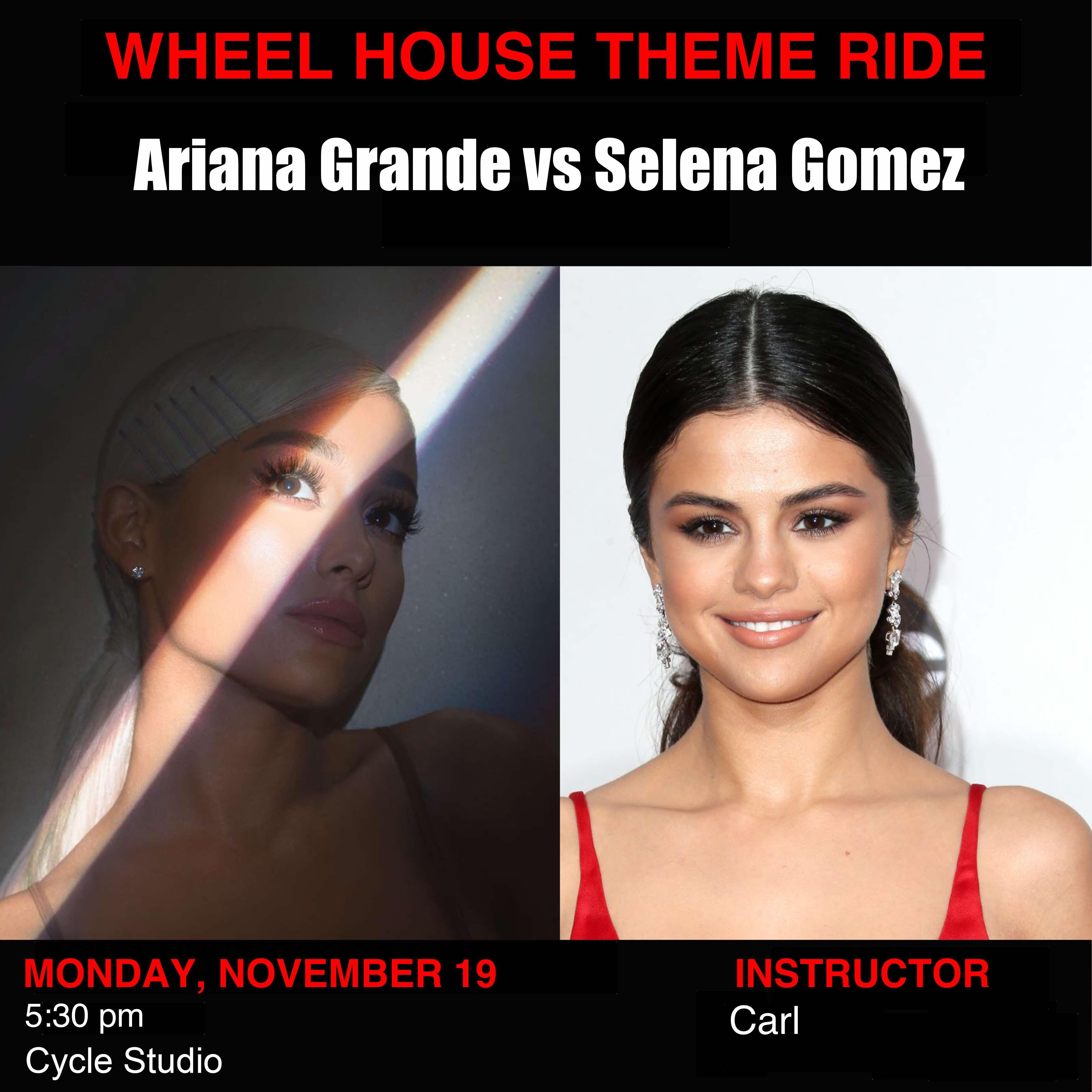 Ariana Grande vs Selena Gomez