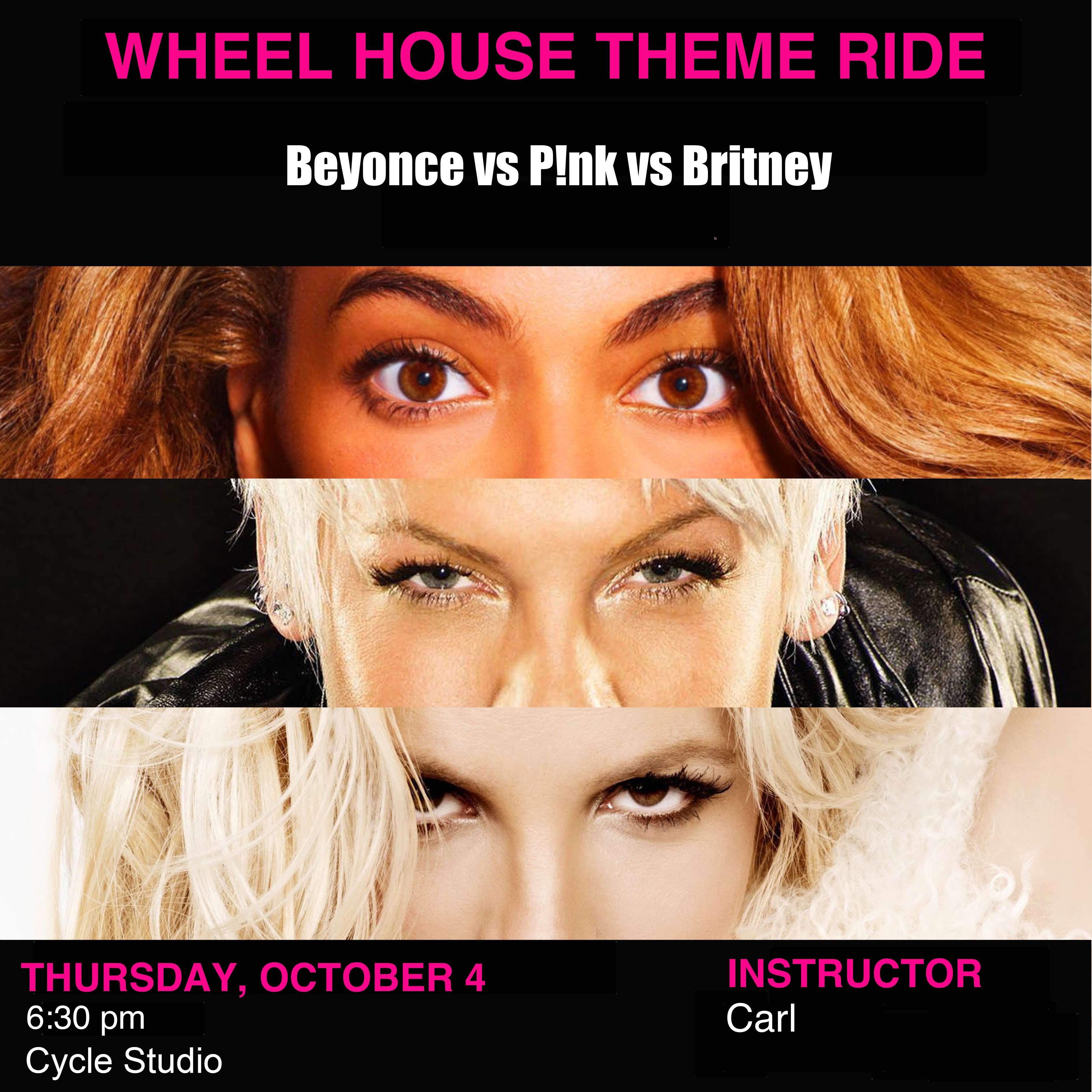 Beyonce vs P!nk vs Britney