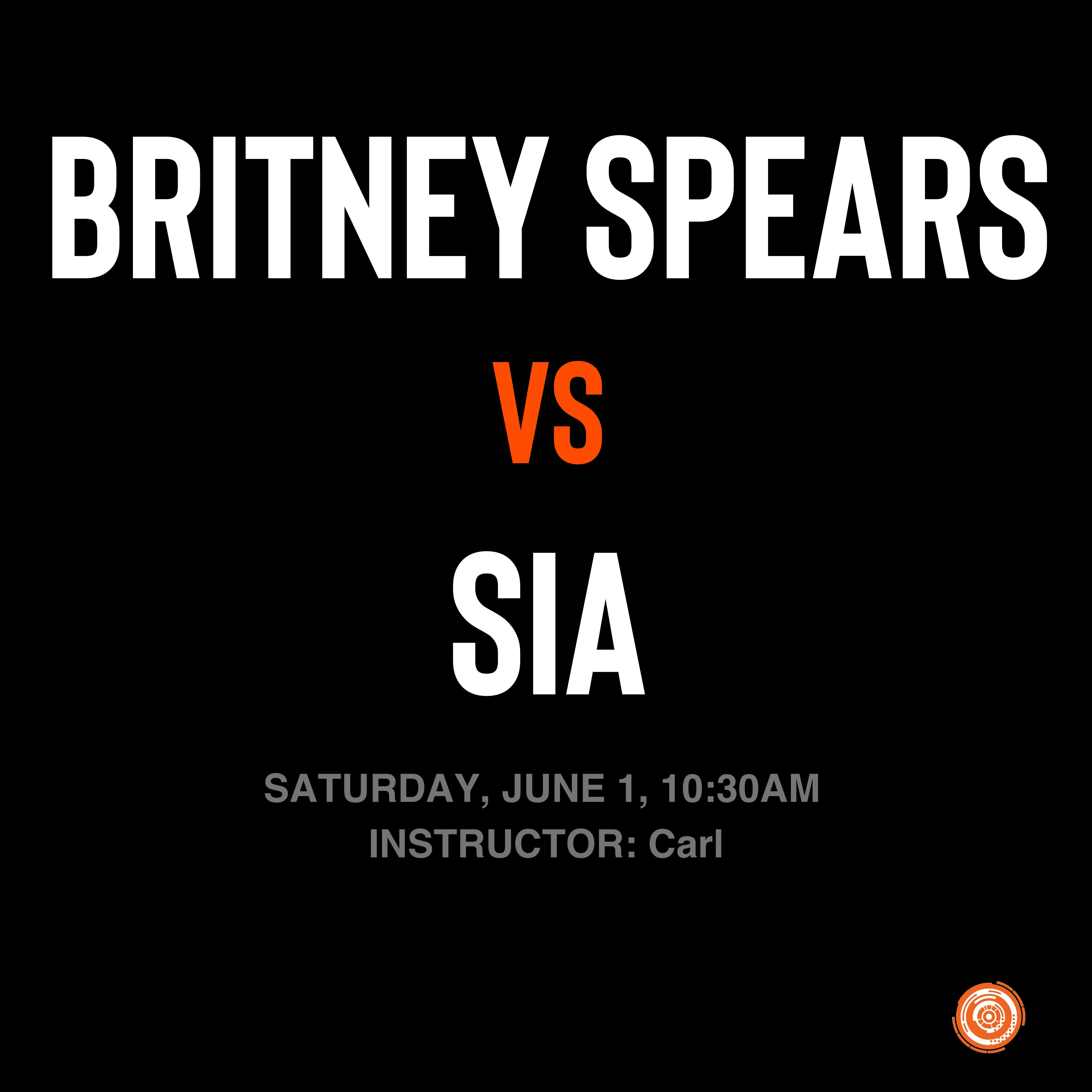 Britney Spears vs Sia