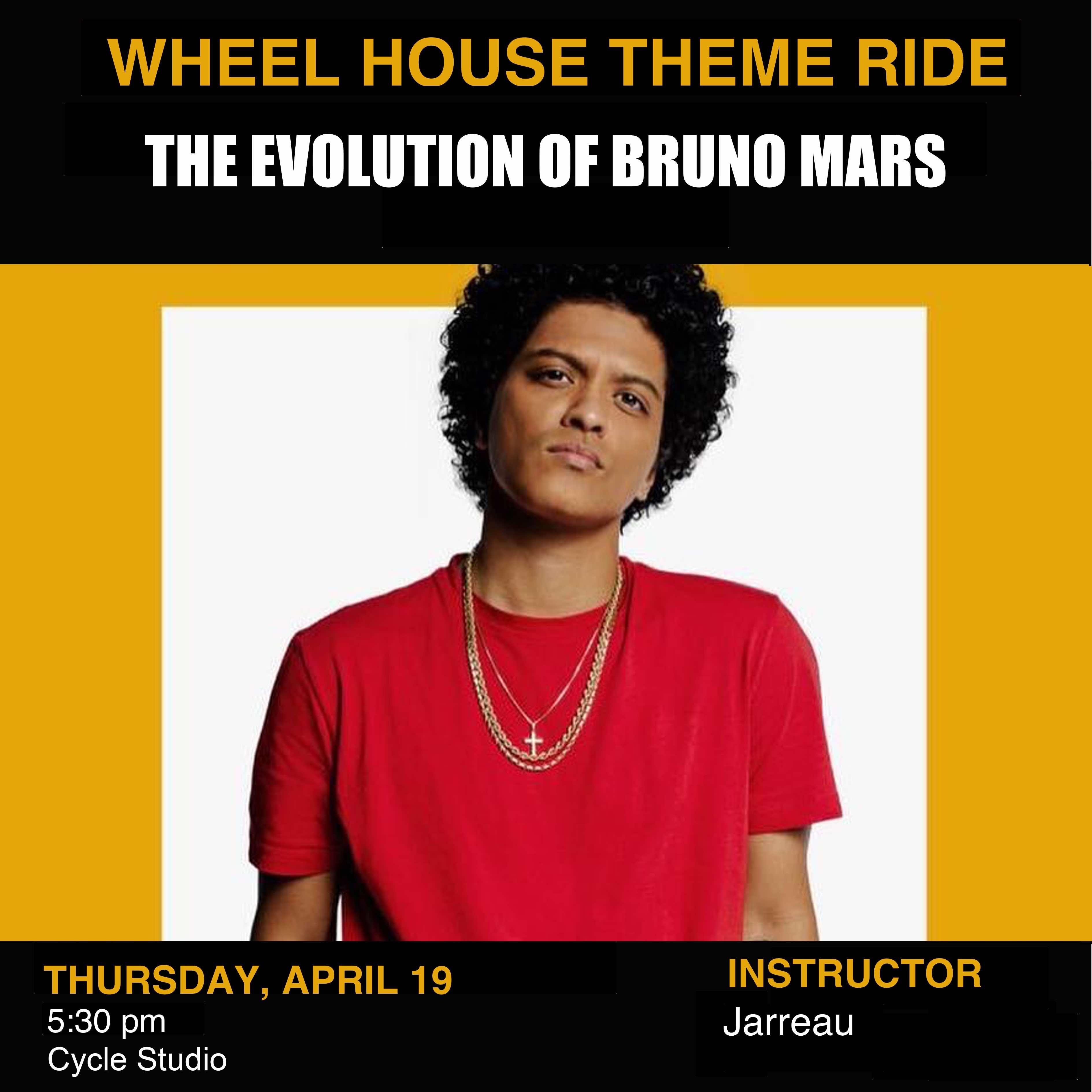 The Evolution of Bruno Mars