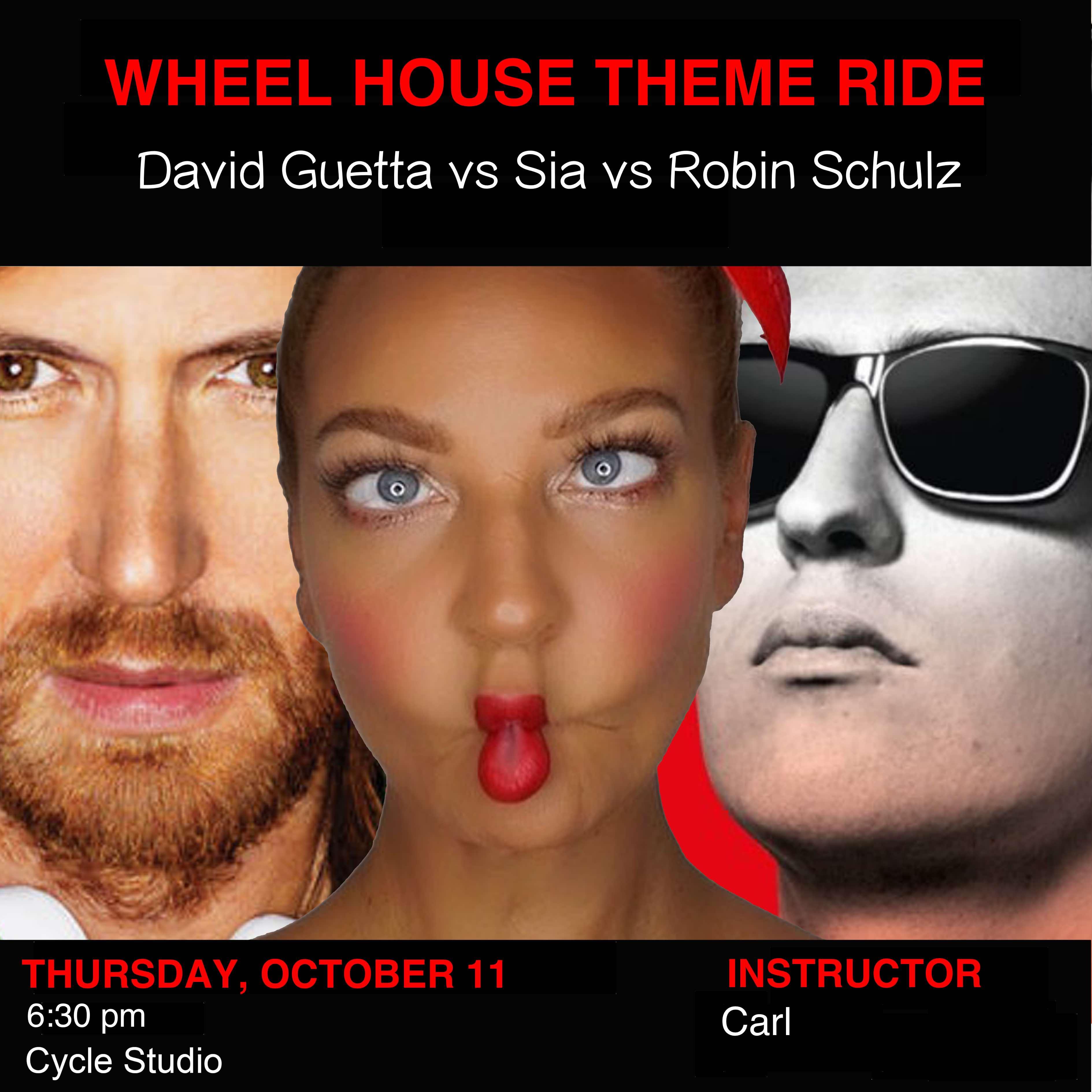 David Guetta vs Sia vs Robin Schulz