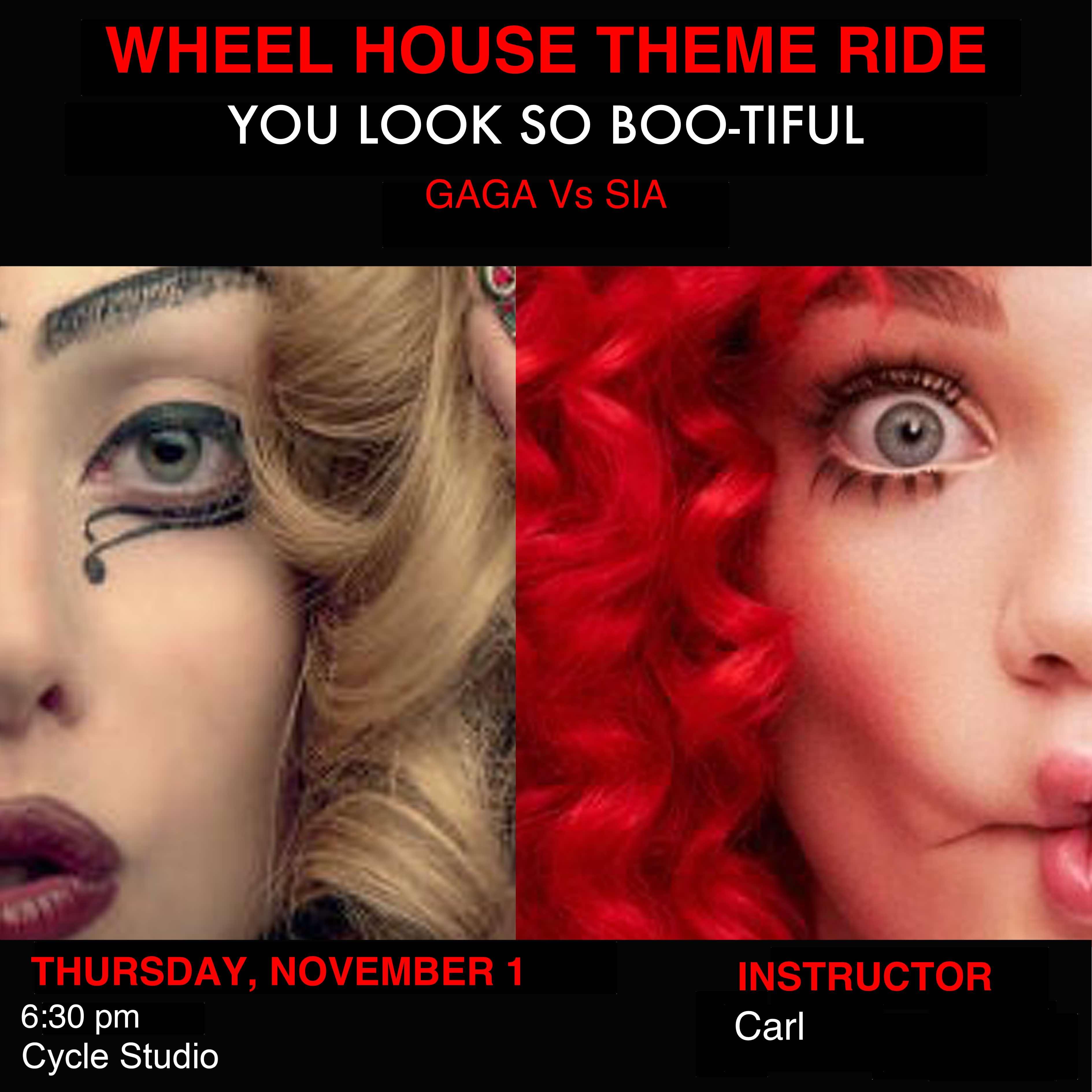 You Look So BOO-tiful - Gaga vs Sia