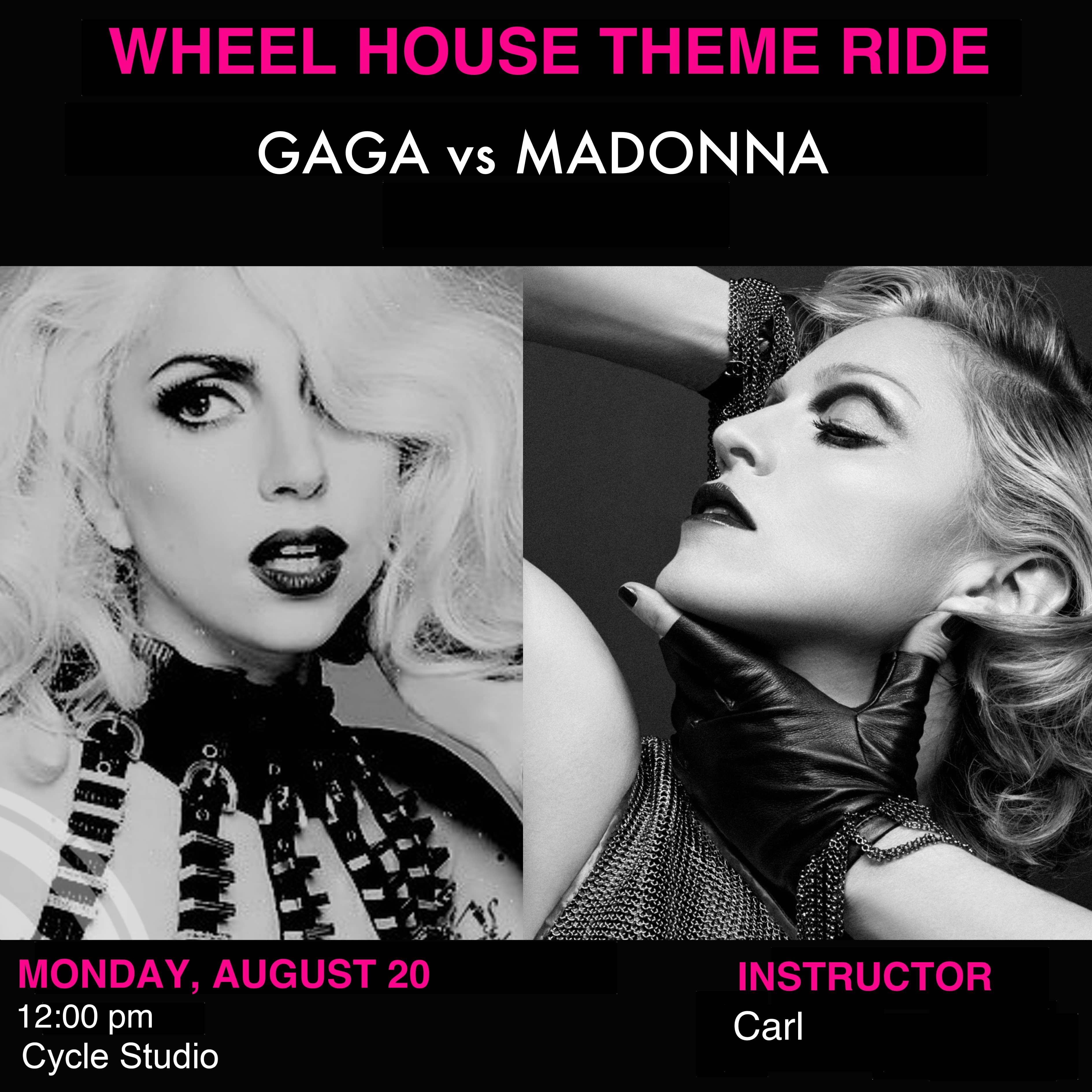 Gaga vs Madonna