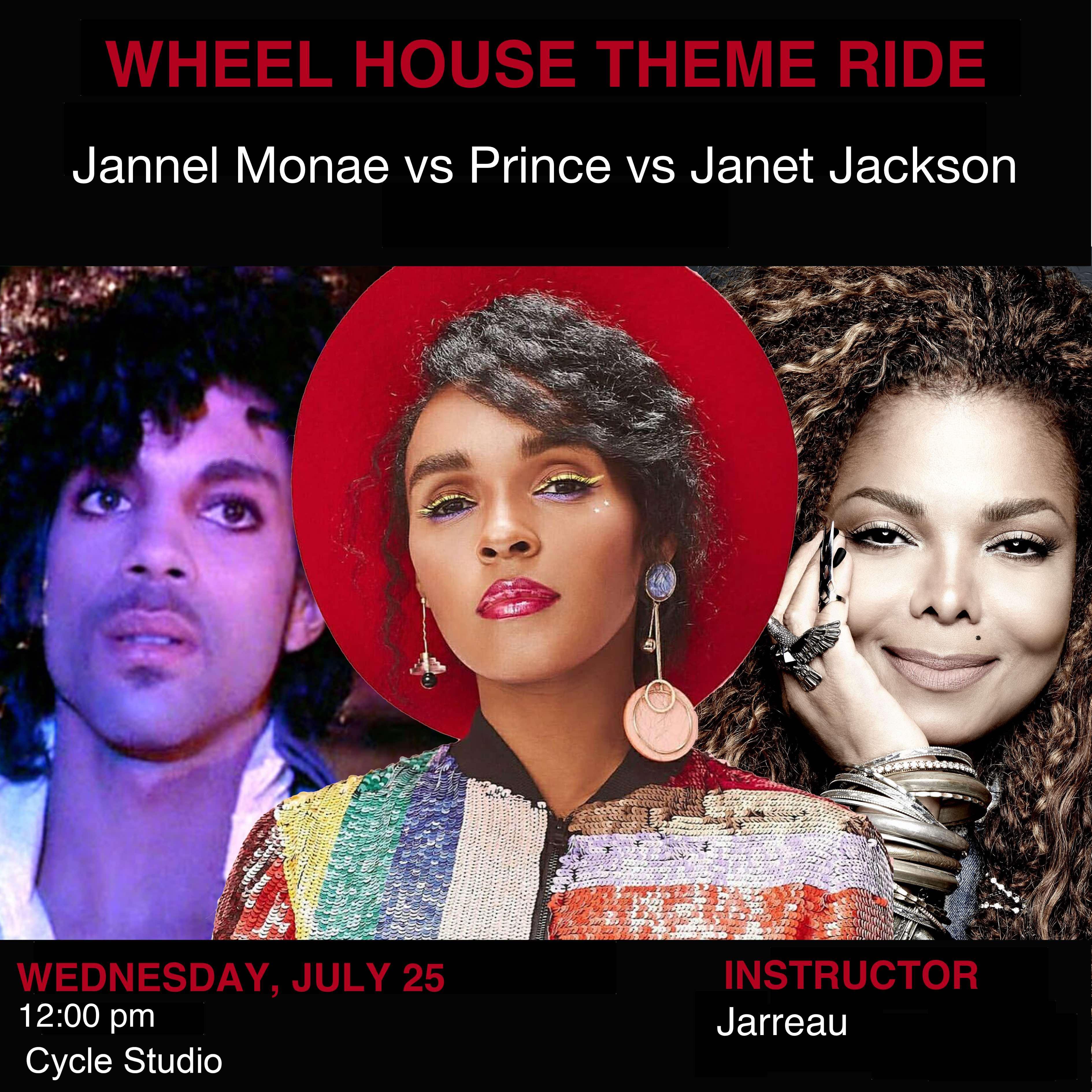 Jannel Monae vs Prince vs Janet Jackson
