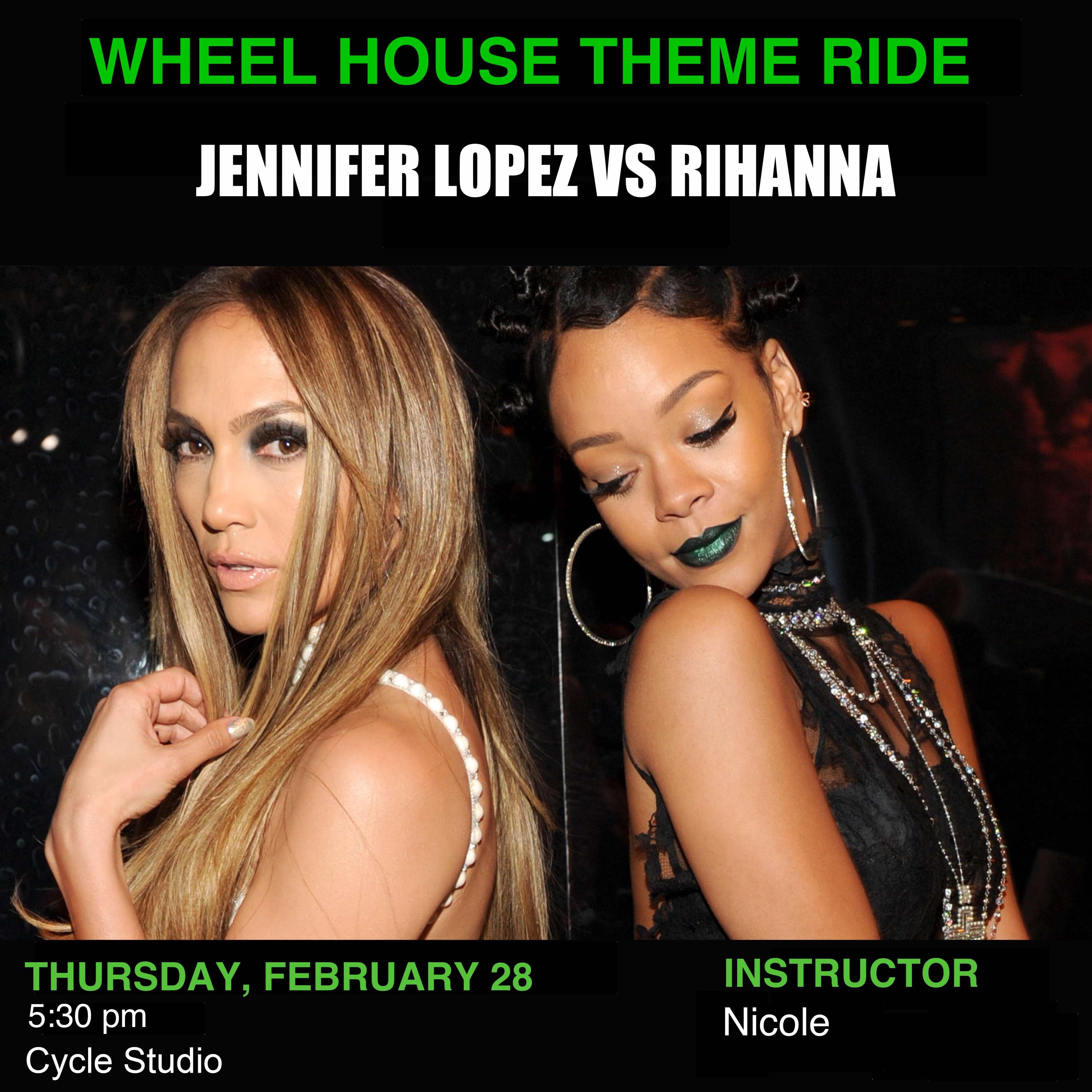Jennifer Lopez Vs Rihanna