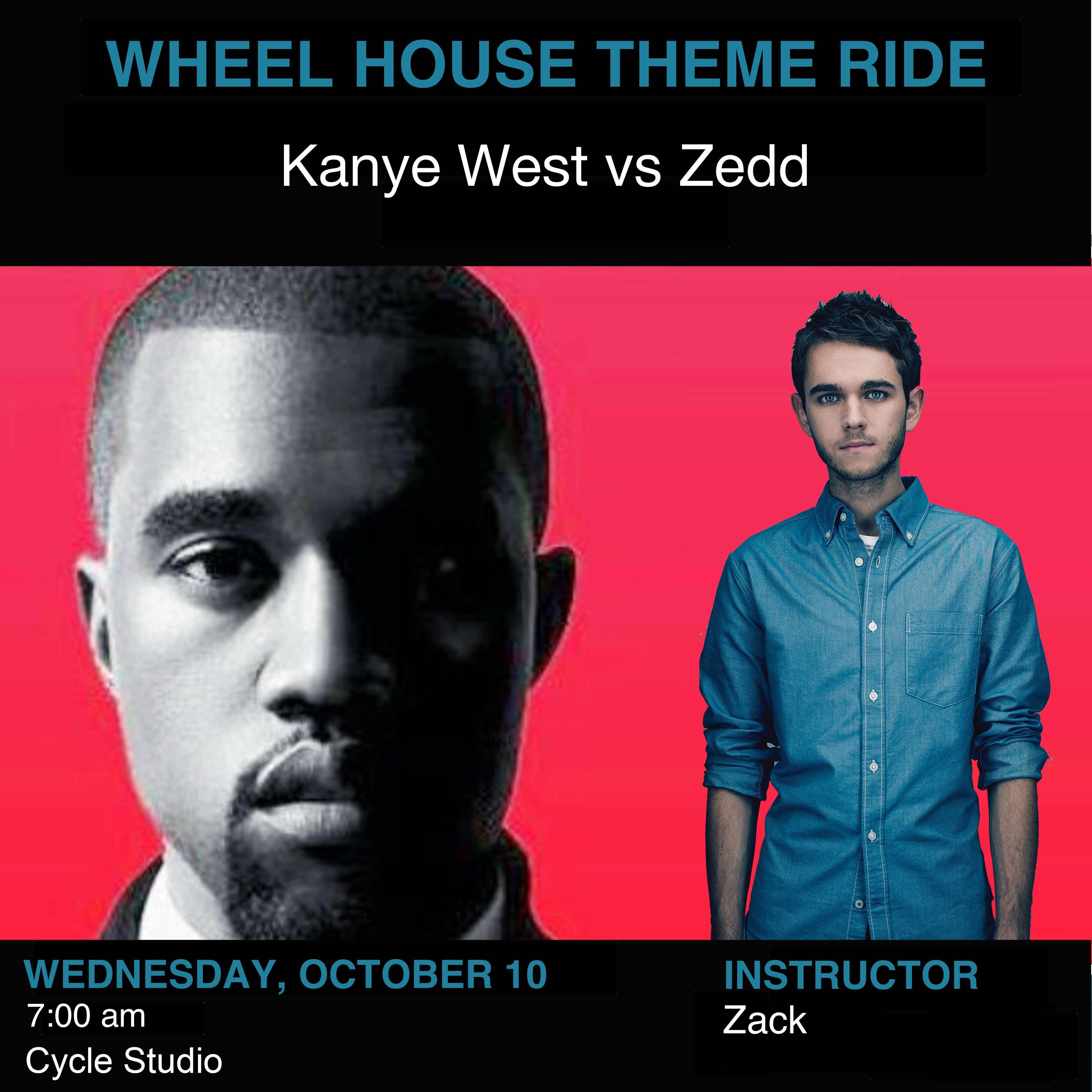 Kanye West vs Zedd
