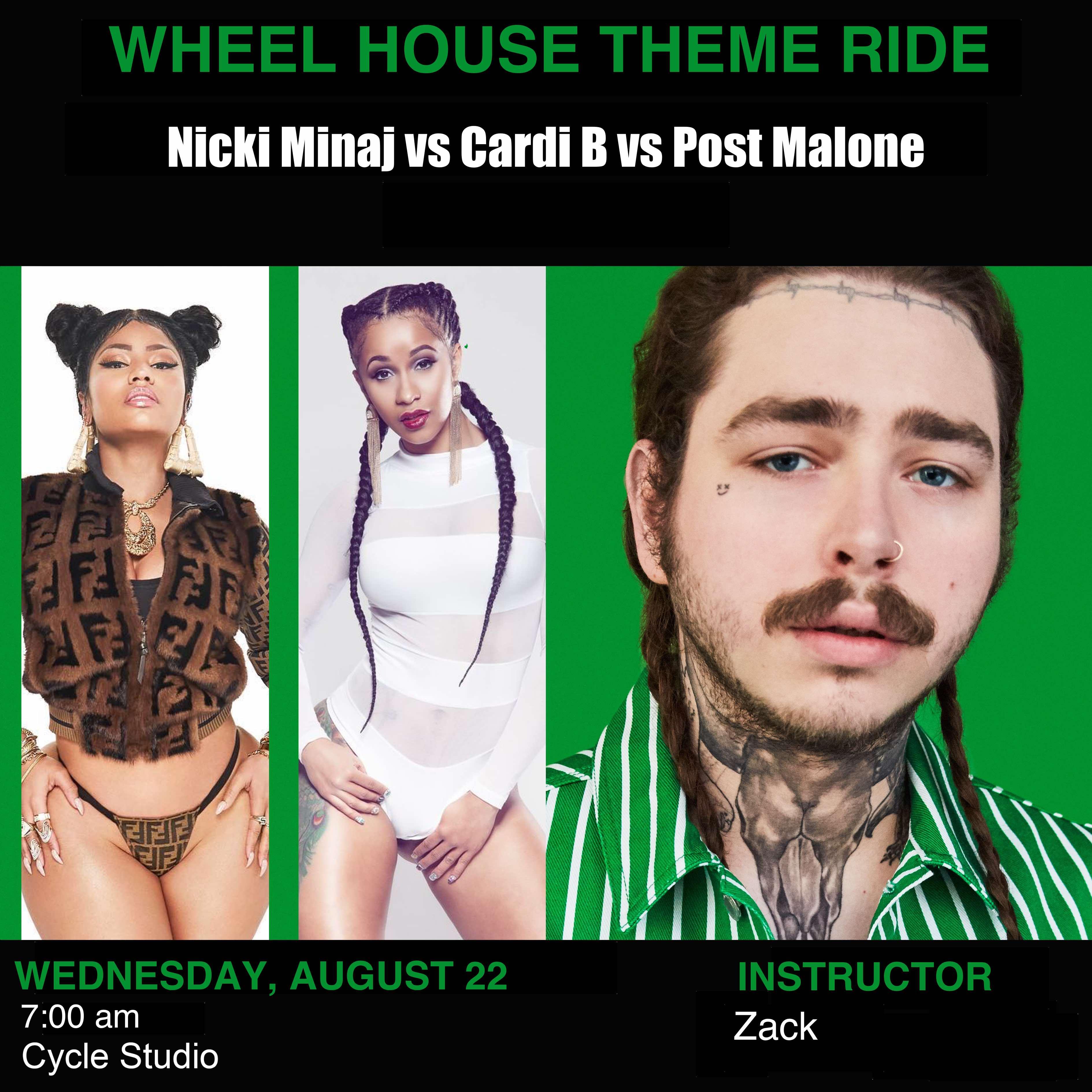 Nicki Minaj vs Cardi B vs Post Malone