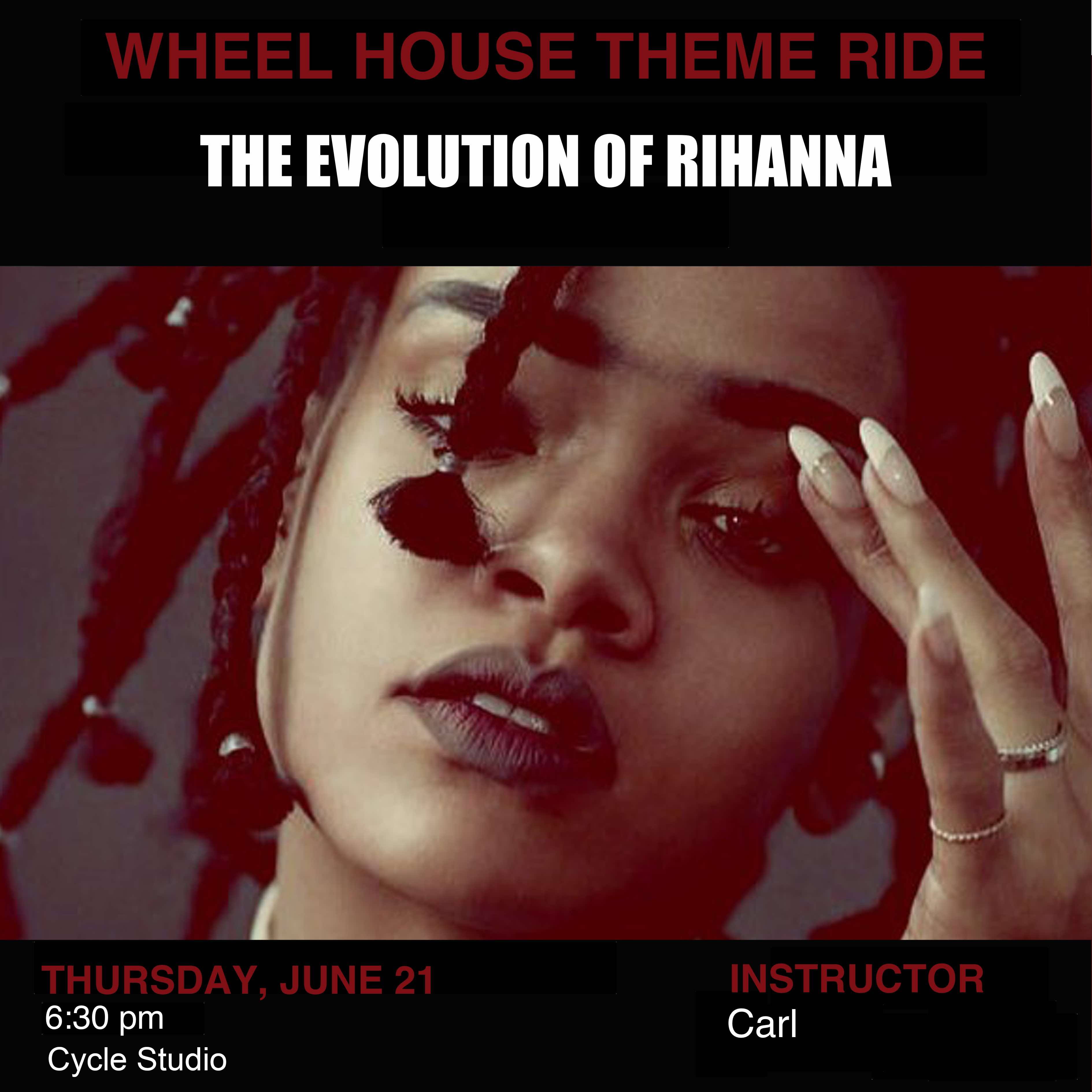 The Evolution of Rihanna