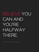 THE POWER OF BELIEVING YOU CAN IMPROVE