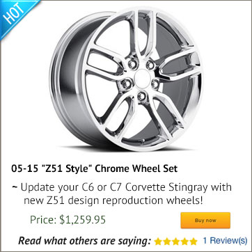Z51 Corvette Wheels
