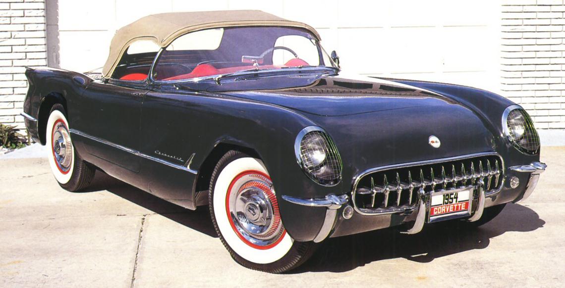 1954 Corvette Parts