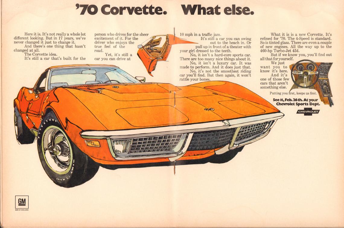 1970 Corvette Parts