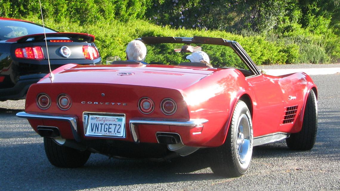 1972 Corvette Parts