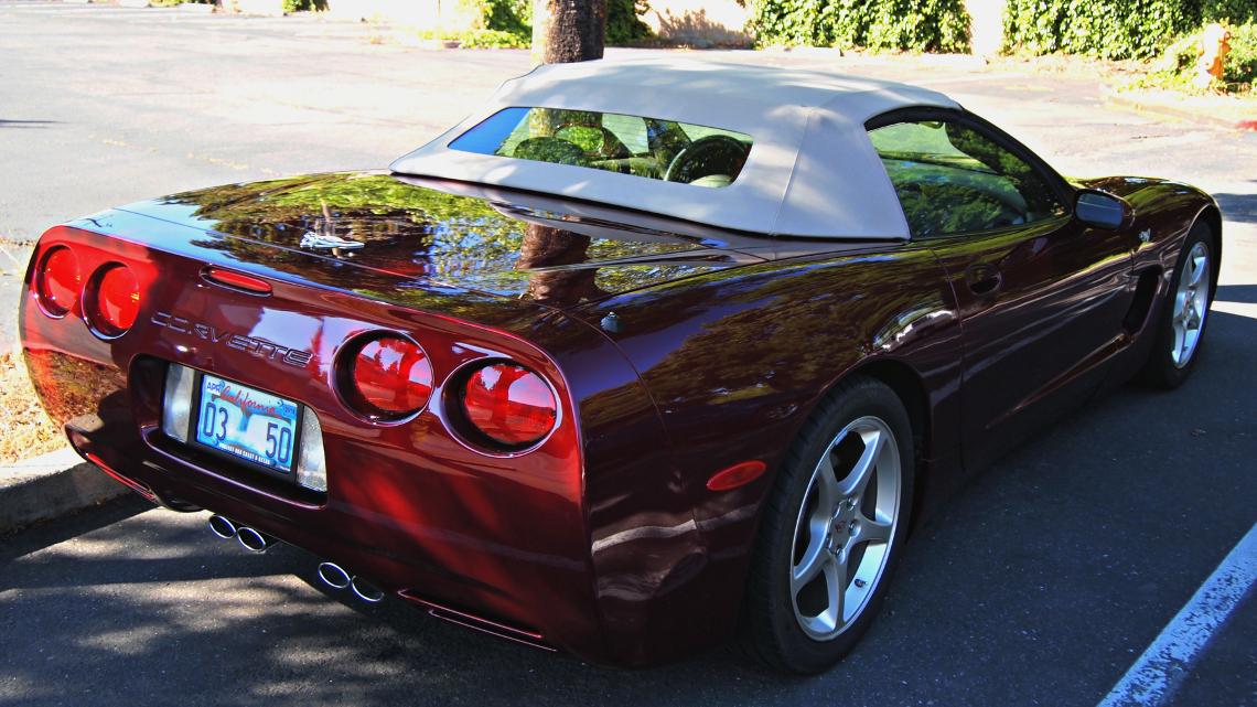 2003 Corvette Parts
