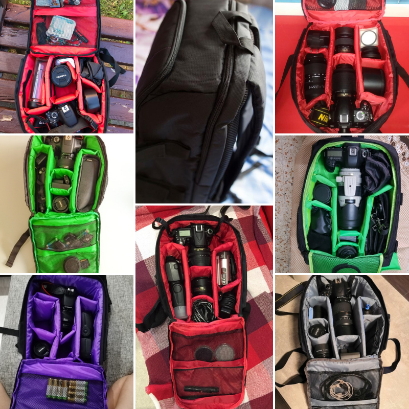 camera backpack bag for hiking and outdoors