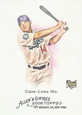 Chin-Lung Hu  RC #22 2008 Topps Allen and Ginter Main Set