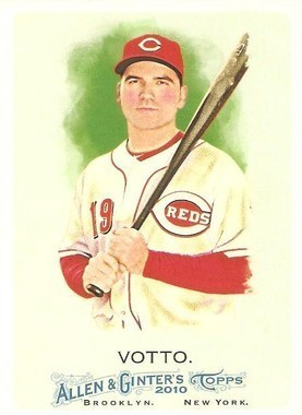 Joey Votto #70 2010 Topps Allen & Ginter Main Set