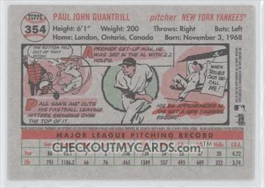 Paul Quantrill #354 2005 Topps Heritage Main Set