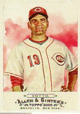 Joey Votto #196 2009 Topps Allen and Ginter Main Set