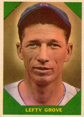 Lefty Grove #60 1960 Fleer Main Set