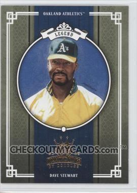 Dave Stewart #296 2005 Donruss Diamond Kings Main Set
