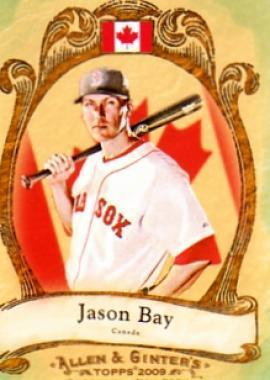 Jason Bay #NP3 2009 Topps Allen and Ginter National Pride