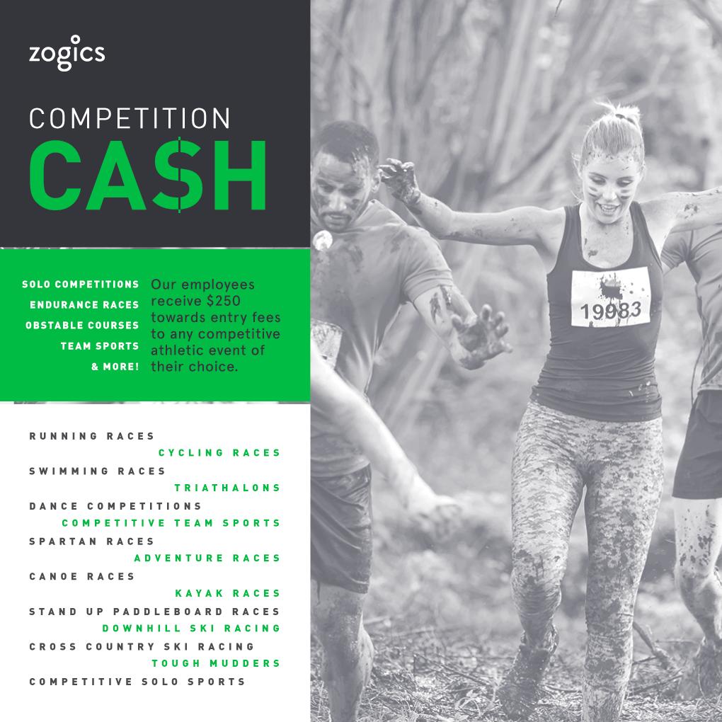 Zogics Competition Cash
