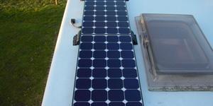 Zonnepaneel camper hoeveel watt
